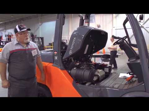 Forklift Technician Challenge 2015 - Toyota