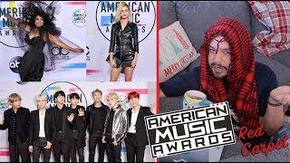 American Music Awards 2017: HORROR en la alfombra!! // gwabir