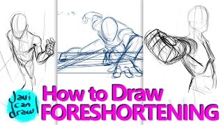 HOW TO DRAW FORESHORTENING - A Process Tutorial thumbnail