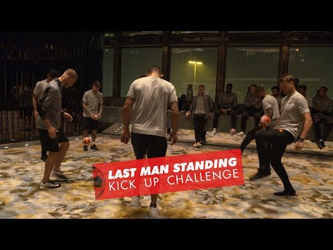 Liverpool FC Last Man Standing Keepy-Up battle