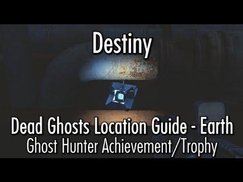Destiny dead ghost locations earth ghost hunter achievement
