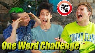 1-Wort Challenge mit JoisJoongle & Renzo (leicht unsozial ist es schon)
