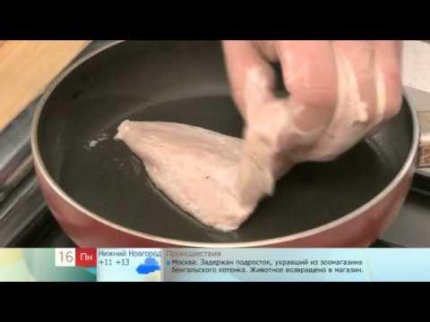 Рецепт: Куриная грудка в кунжуте на
