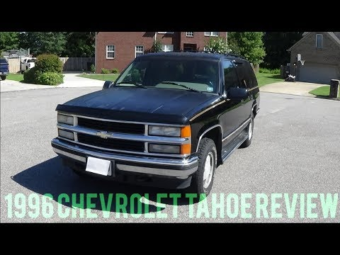 1996 Chevrolet Tahoe Review