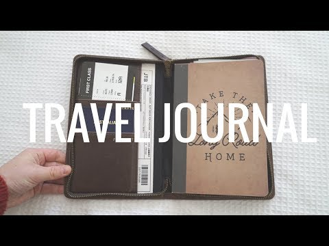 My Japan Travel Journal Setup