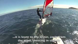How to Windsurf 101 - How to Steer in Windsurfing