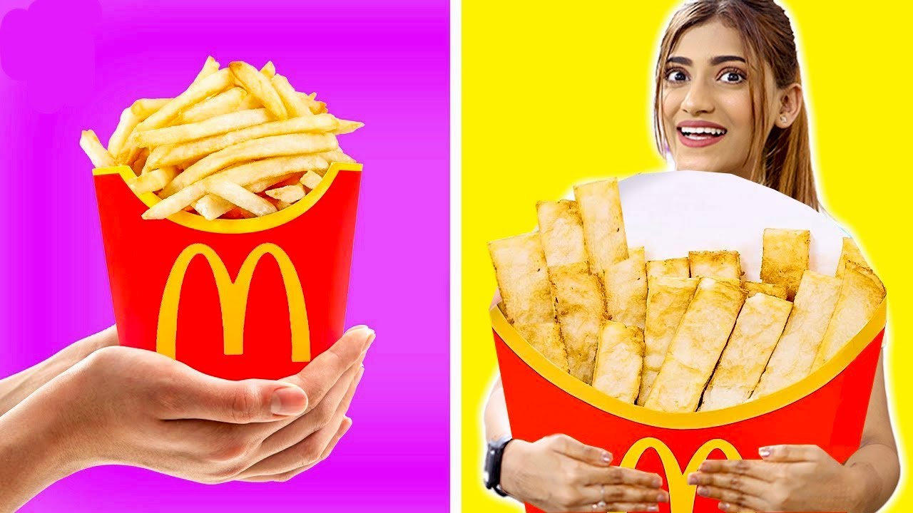 I Made The World's Biggest FRENCH FRIES 🍟   Pass Or Fail 😱   Samreen Ali