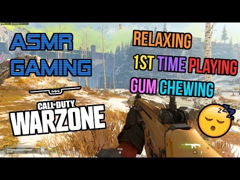 asmr-gaming-|-call-of-duty-warzone-relaxing-1st-time-playing-gum-chewing-🎮🎧-controller-sounds-😴💤