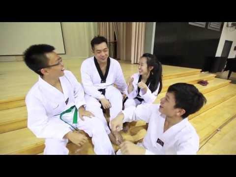 Meridian Junior College Taekwondo Team Trains As A Family
