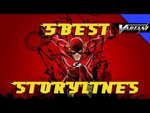 Top 5 Best Flash Storylines!