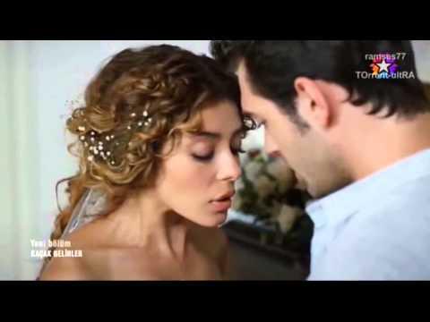 Kaçak Gelinler Şebnem ve Selim Öpüşme Full (11 - 12 Bölüm)