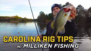 How To Fish The Carolina Rig with Ben Milliken!