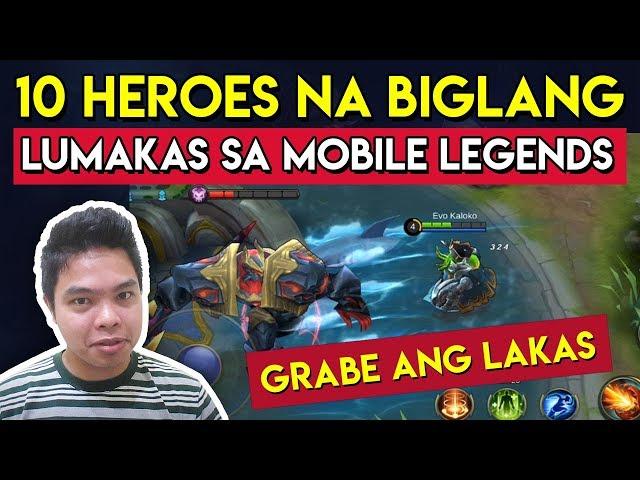10 Heroes na Biglang Lumakas sa Mobile Legends