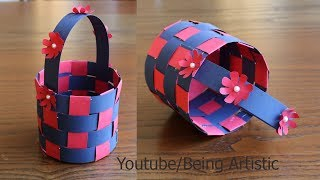 how to make a paper basket diy paper craft