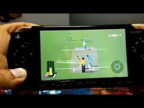 Brian Lara Cricket 2007  | India Vs South Africa | PSP