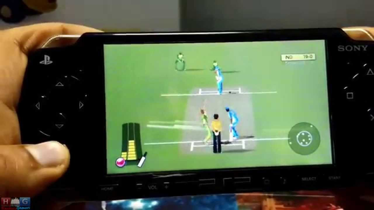 psp cricket game download free