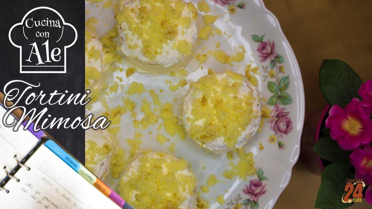 Tortini Mimosa Veloci e Facili: Pan di Spagna in 10\' Crema al ...