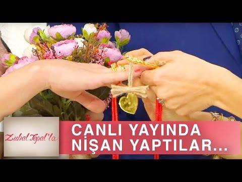 Zuhal Topal'la 187. Bölüm (HD) | Sema ve Taner'in Canlı Yayındaki Muhteşem Nişan Töreni!