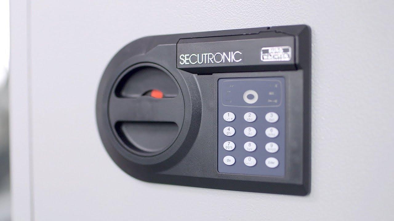 Serrure électronique Secutronic : modifier le code et changer les piles