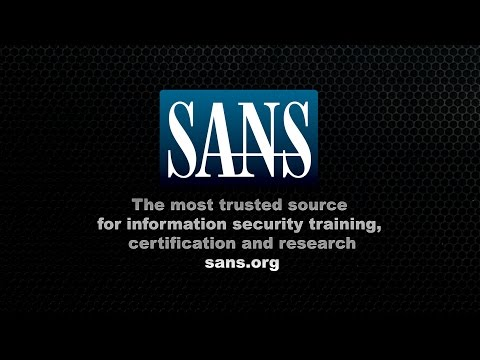 Information Security Training from SANS Institute - Student Testimonials