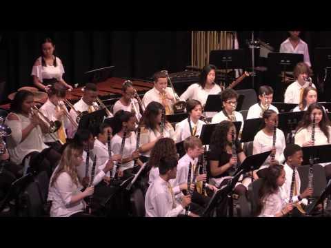 Sampson MS 8th Grade Band - Night of the Dark Horse - Mike Oare