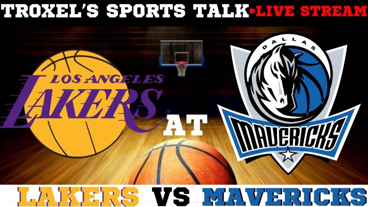 Nba Los Angeles Lakers Vs Dallas Mavericks Game Audio Scoreboard Only