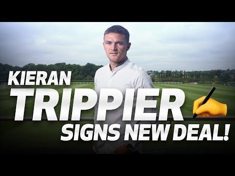 KIERAN TRIPPIER SIGNS NEW DEAL