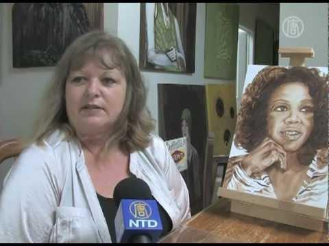 Zprávy NTD - Australská umělkyně maluje vegemitem