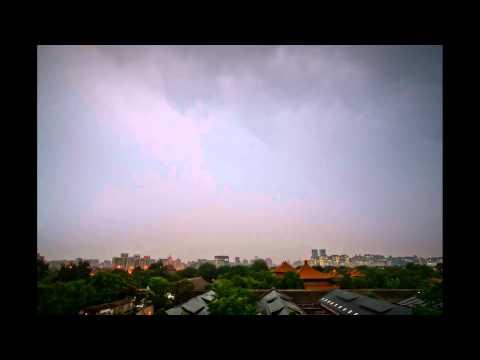 Beijing Lightning Time Lapse • 北京雷暴