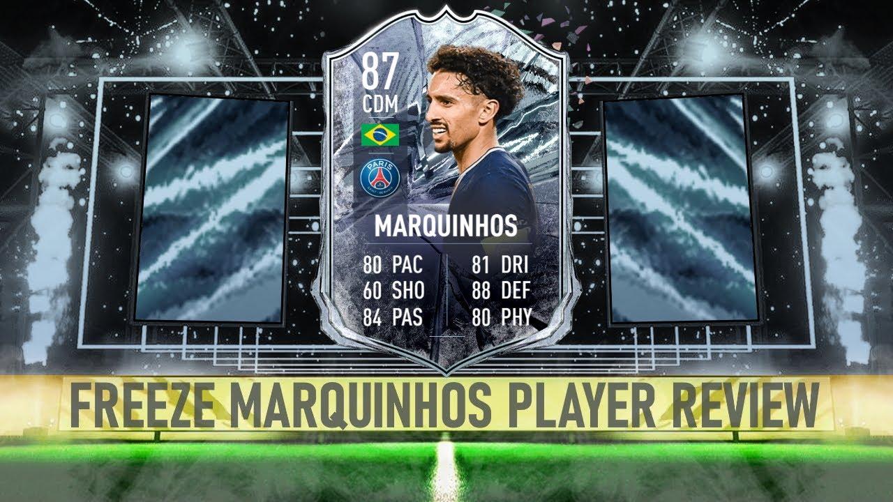 FIFA 21 | FREEZE MARQUINHOS (87) PLAYER REVIEW - YouTube