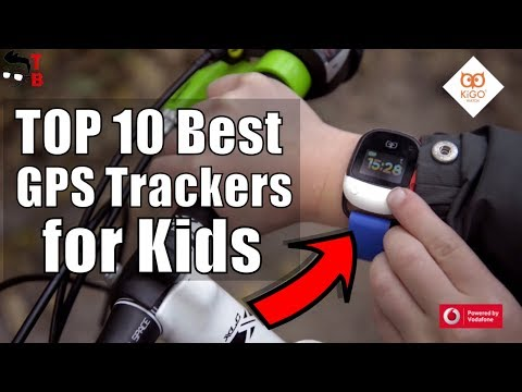 TOP 10 Best GPS Trackers for Kids 2017: Wearable devices for children safe