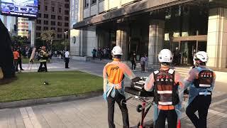 (09.25) 프레스센터 지하 3층 화재로 긴급 대피