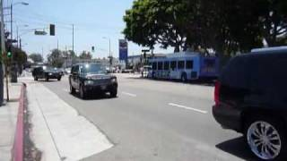 Michael Jackson funeral procession