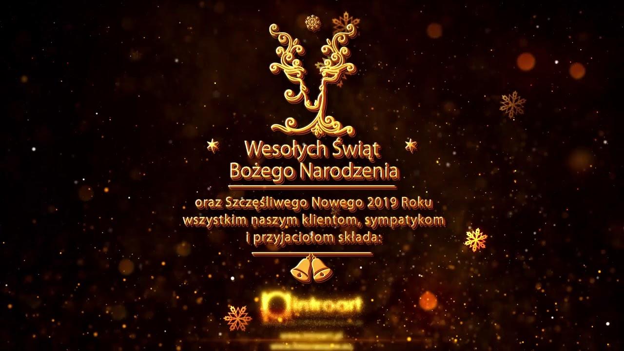 życzenia Boże Narodzenie Nowy Rok 2019 Youtube