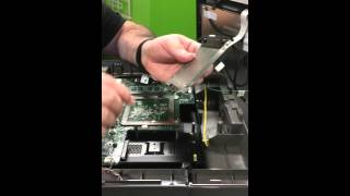 How to perform a hard drive swap on the radiant p1530 register.