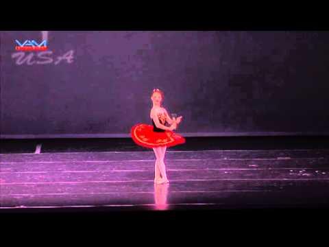 Amanda Hall, 12 years old, Don Quixote, Pembroke Ballet, WBC, 2013