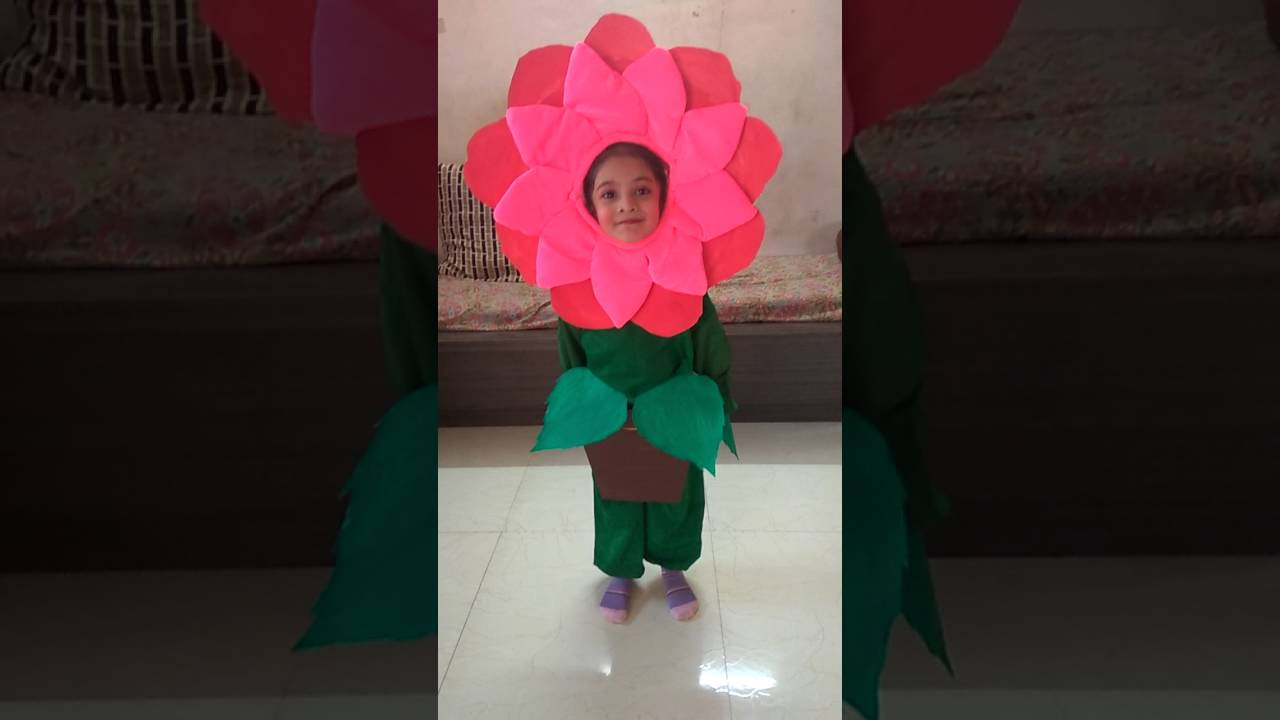 Flower Dress Idea For Kid Youtube