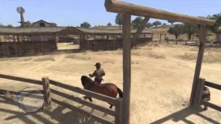 El GTA V del pasado - Caballos, vacas, carrozas... - Red Dead Redemption