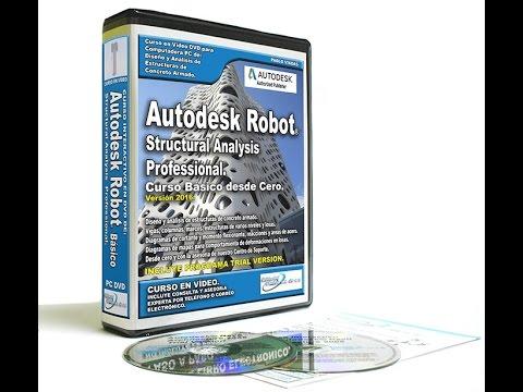 Autodesk Robot 2016 Tutorial en Español |  Curso Completo - Análisis de Estructuras de Concreto