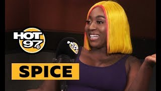 Spice On Backlash From 'Black Hypocrisy' & Reveals Problems w/ Her Label