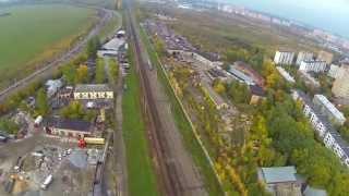 DJI Phantom, Полёт на 3,6 км (Новокурьяново - Южное Бутово)