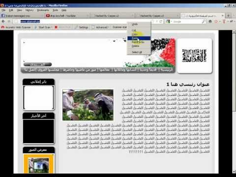 400 palestine site recover by 3xp1r3 cyber army