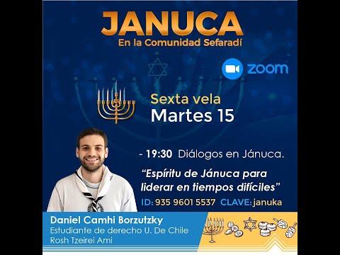 Espíritu De Jánuca Para Liderar En Tiempos Difíciles Con Daniel Camhi B.