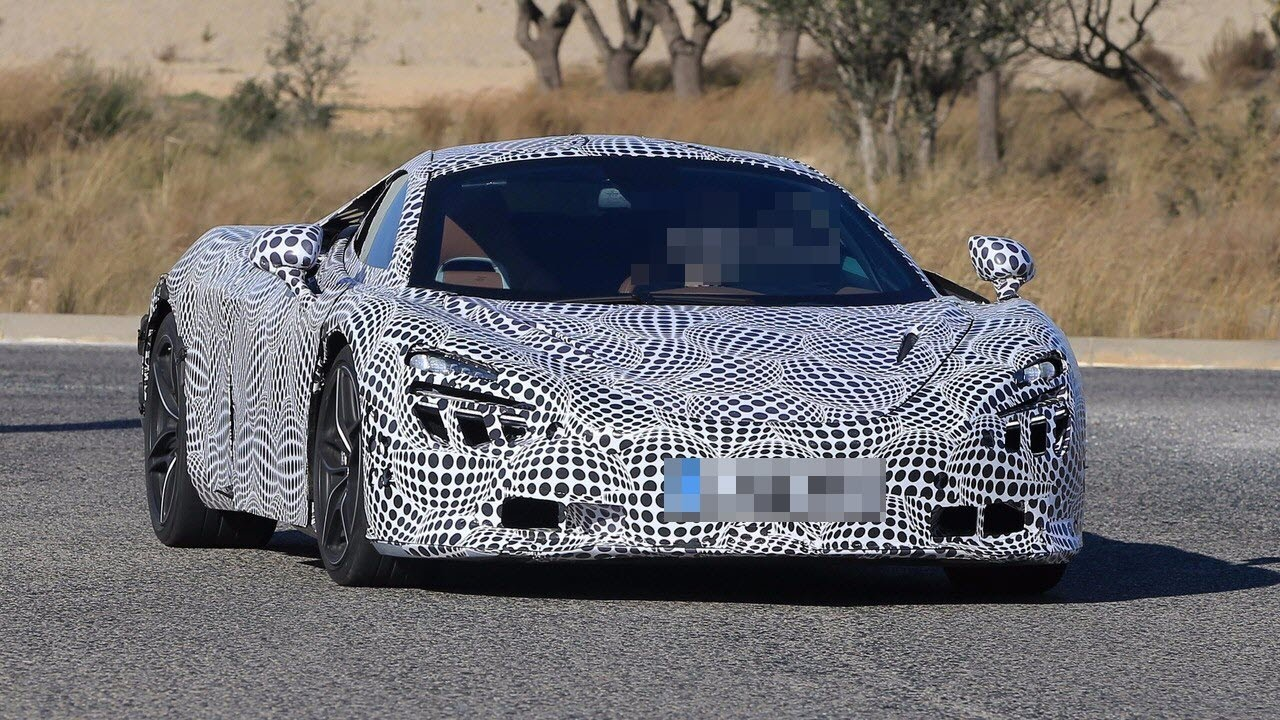 2018 mclaren 720s black. simple 720s 2018 mclaren 720s p14 spied with black and white camouflage throughout mclaren 720s black g