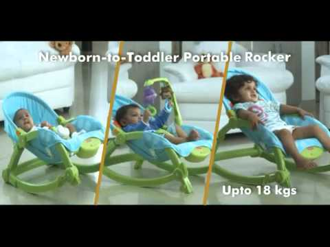 T4145 Newborn To Toddler Rocker