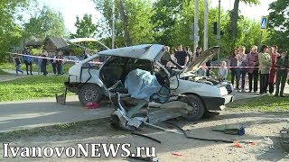 Смертельное ДТП на улице Суворова в Иванове