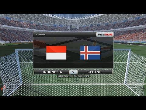 Indonesia vs Iceland - International Friendly Match