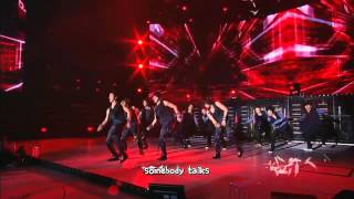 DBSK 동방신기 - Rising Sun 3rd Asia Tour [eng + rom + hangul + karaoke sub]