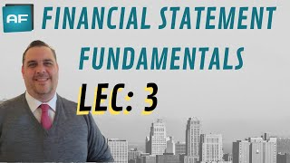 Financial Statement Fundamentals (3 of 39): Universality of Financial Statements