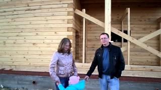 Видео отзыв Дома из бруса по проекту Д17(Отзыв заказчиков о компании ДревХом., 2014-09-19T12:02:40.000Z)